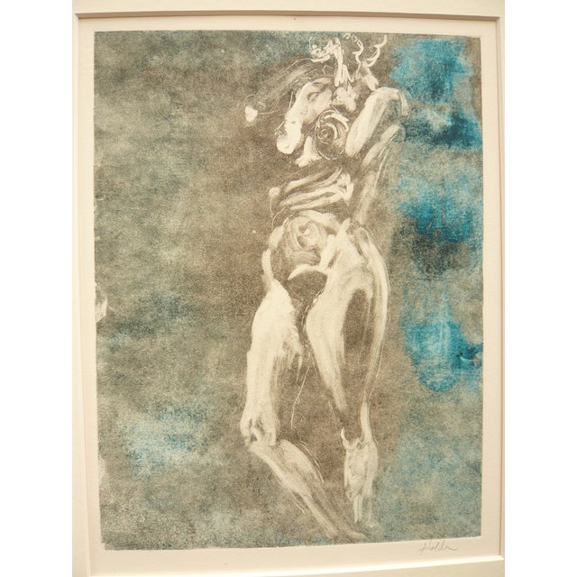 Soft Green Nude Monotype - Image 4 of 6