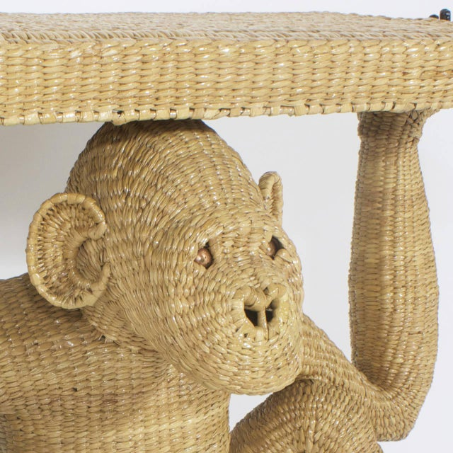 Early 21st Century Mario Torres Chimpanzee or Monkey Console For Sale - Image 5 of 9