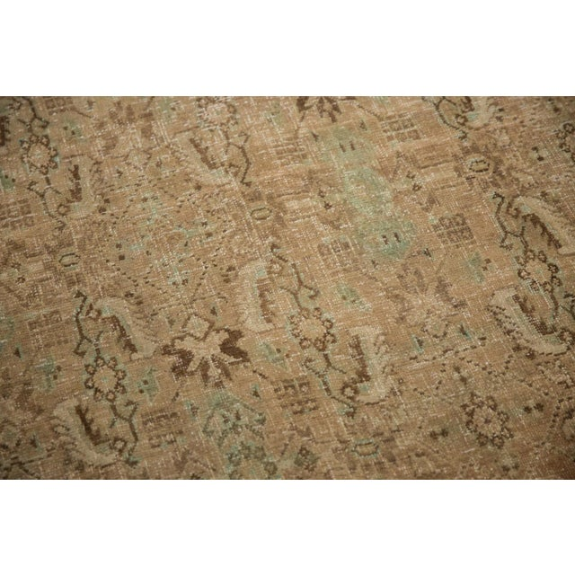 "Vintage Distressed Shiraz Carpet - 5'4"" X 8'3"" For Sale - Image 10 of 12"