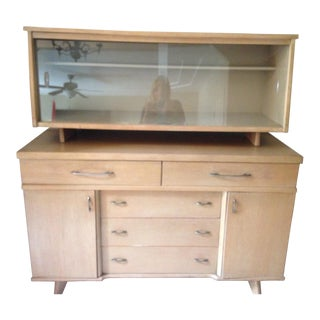 Mid-Century Modern Meier and Pohlmann Blonde Buffet For Sale