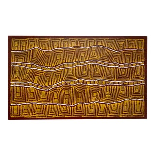 """My Country"" Aboriginal Painting by Raelene Stevens 2007 For Sale"
