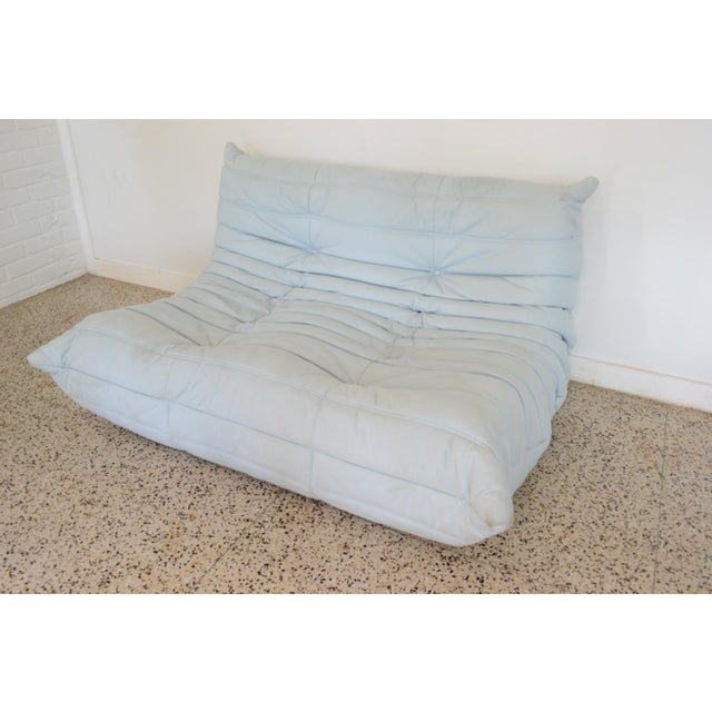 """Ligne Rose """"Togo"""" 3 Piece Sectional by Michel Ducaroy For Sale - Image 10 of 11"""