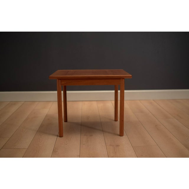 1960s Mid-Century Modern Westnofa Teak Side Table For Sale - Image 6 of 12
