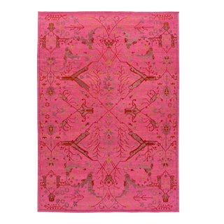 21st Century Contemporary Sumakh Wool Rug For Sale