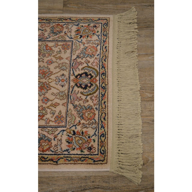 "Karastan Tabriz 2'6""x4'3"" Throw Rug (A) For Sale - Image 4 of 12"