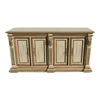 Century Furniture Painted Italian Neoclassical Credenza For Sale