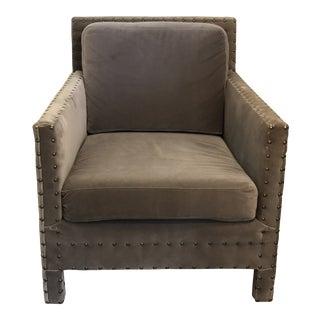 1990s Vintage Ralph Lauren Club Chair For Sale