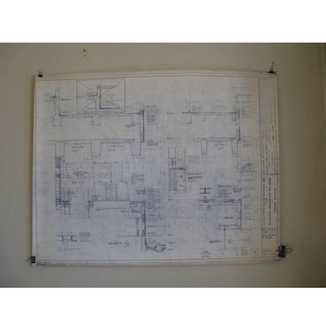 NYC Saarinen 1962 Lincoln Center Blueprint - Image 2 of 5