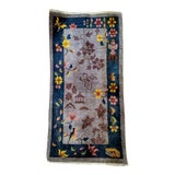 Image of Early 20th Century Art Deco Chinese Rug - 2′ × 4′ For Sale