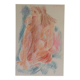 Seated Female Nude by James Bone 1997 For Sale