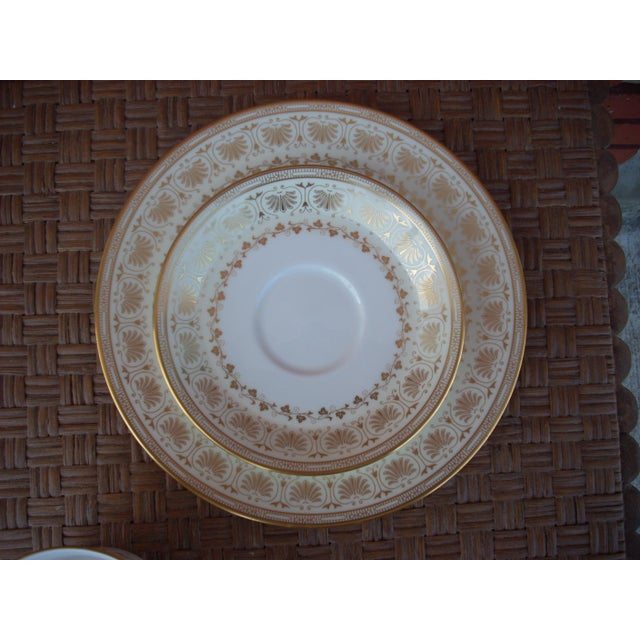 Minton Dessert Set - 3 Pieces - Image 3 of 4