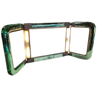 Triple Vanity Table Light Mirror , 1940s For Sale
