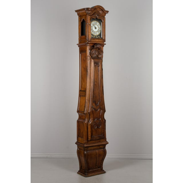 18th Century French Tall Case Clock or Horloge De Parquet For Sale - Image 13 of 13