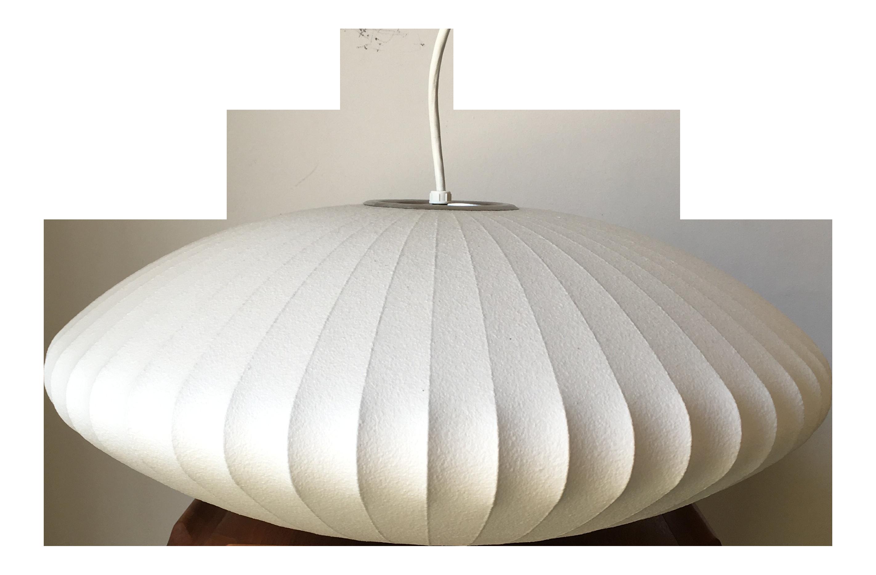 Modernica Production Nelson Bubble Pendant Light Medium Saucer Chairish