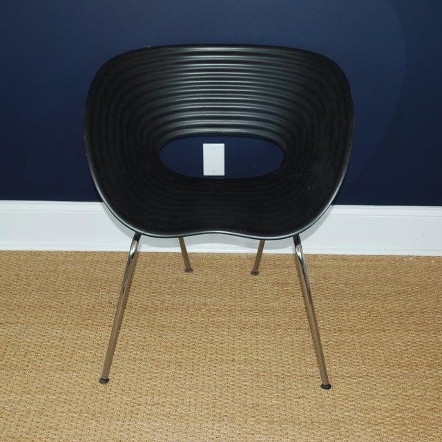 Iconic Black Tom Vac Chairs - Pair - Image 4 of 6