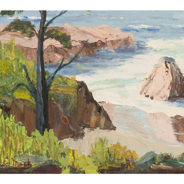 California Seascape by Evelyn Meck, 1975 - Image 5 of 6