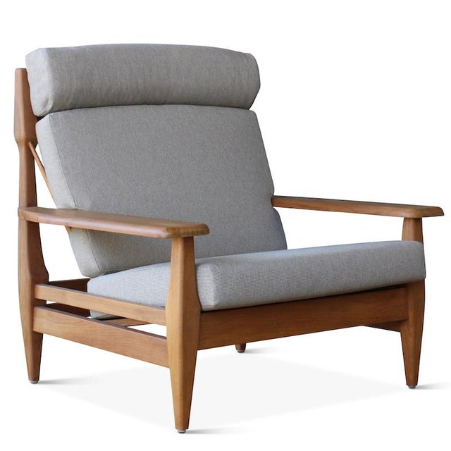 White Outdoor Formosa Armchair For Sale - Image 8 of 8