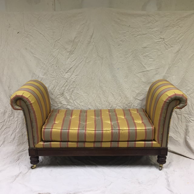 Lillian August Upholstered Bench For Sale - Image 11 of 11