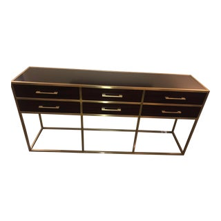 Universal Furniture Gibson Console For Sale