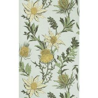 Cole & Son Thistle Wallpaper Roll - Lemon/Olive/D Egg For Sale