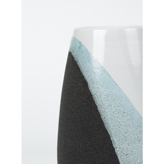 Glazed Ceramic Vase by Ettore Sottsass for Bitossi For Sale - Image 9 of 12