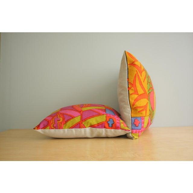 Jack Lenor Larsen Mid-Century Modern Jack Lenor Larsen Pillow Anthony Ballatore Design Accent Pillow For Sale - Image 4 of 11