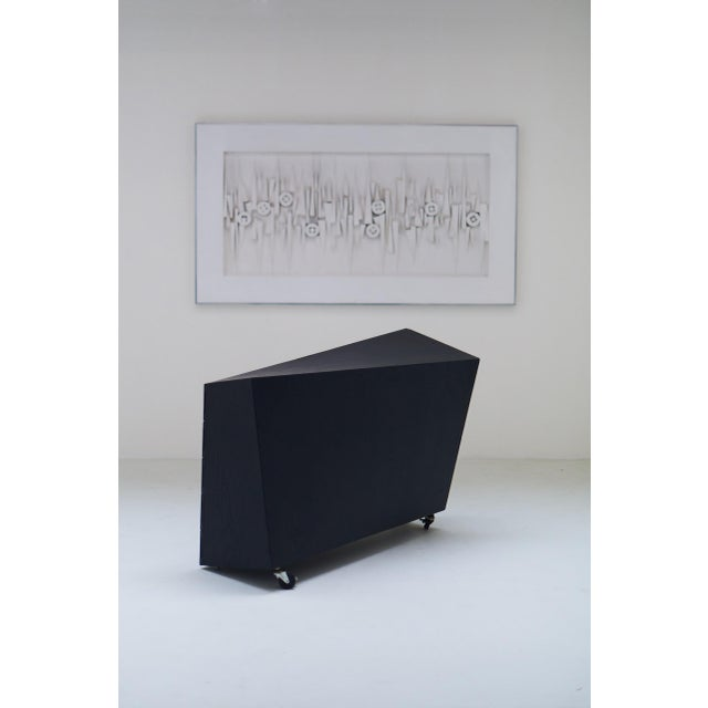 "1982 ""Wil Toro"" Cabinet by Mireille Rivier & Paolo Pallucco For Sale - Image 9 of 13"