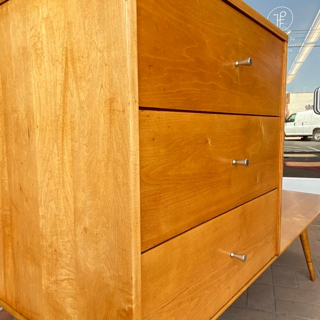 Planner Group Mid-Century Modern Paul McCobb Planner Group by Winchendon Modular Cabinet and Bench For Sale - Image 4 of 13