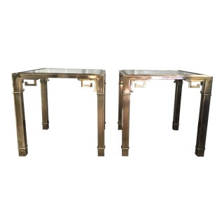 Mastercraft Brass Side Tables For Sale