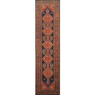 "Pasargad Antique Malayer Wool Area Rug- 4' 0"" X 14' 0"" For Sale"