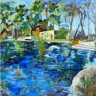 Santa Barbara Contemporary Oil Painting by Martha Holden For Sale