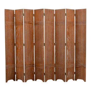Jean-Michel Frank 8-Panel Screen/Room Divider For Sale