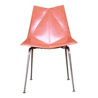 Paul McCobb Mid-Century Modern Fiberglass Origami Chair, 1950s For Sale