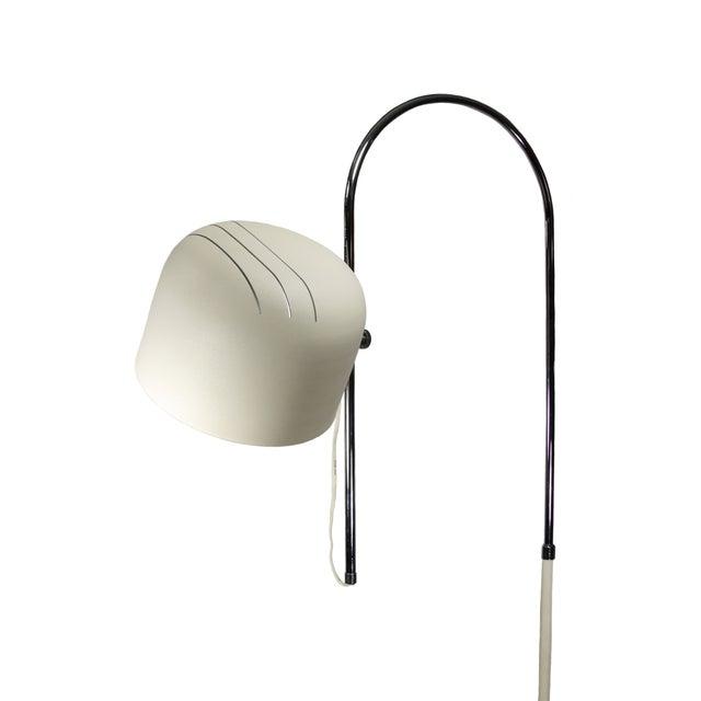 Joe Colombo Italian Joe Colombo Style Chrome Floor Lamp For Sale - Image 4 of 5
