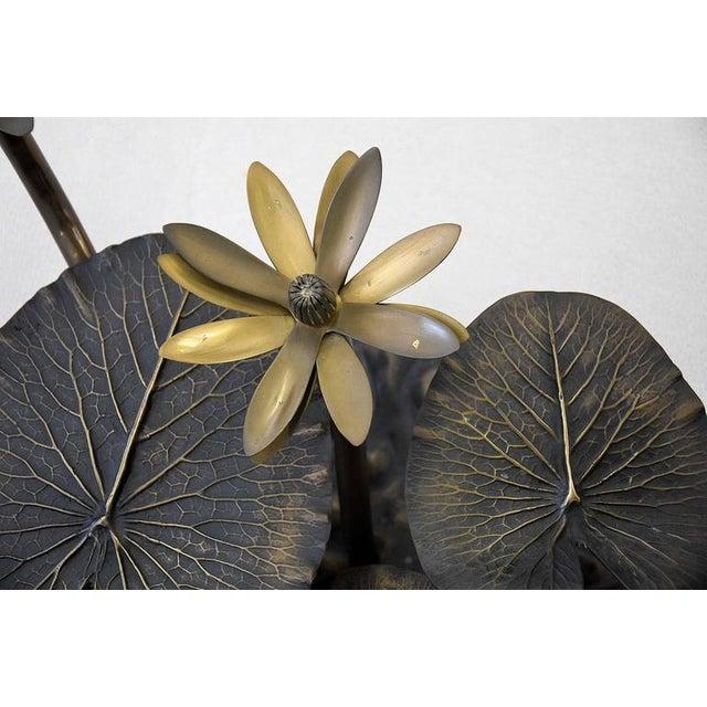 Stylish Mid-Century Modern Lotus Coffee Table - Image 5 of 11