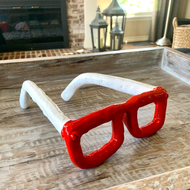 We love the glam statement these monumental cast iron reading glasses make! Vintage inspired reading glasses. Excellent as...