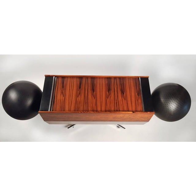 First Generation Clairtone Project G T4 Rosewood Stereo System For Sale - Image 10 of 11