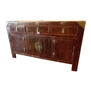 Large Thai Sideboard or Credenza