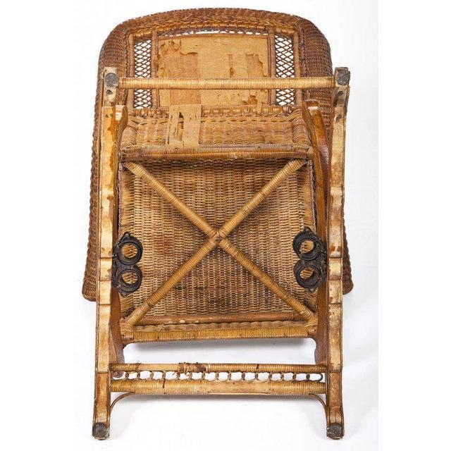 Swell Late Victorian Platform Wicker Rocking Chair Inzonedesignstudio Interior Chair Design Inzonedesignstudiocom