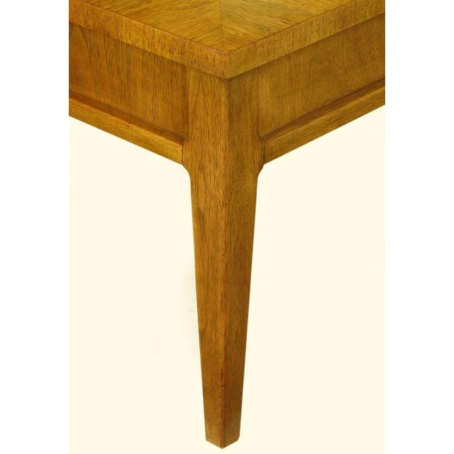 Michael Taylor For Baker New World Mahogany Coffee Table - Image 6 of 8