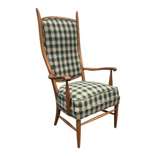 Chieftain Armchair by Maxwell Royal For Sale