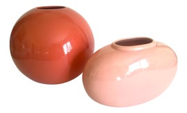 Image of Coral Vases