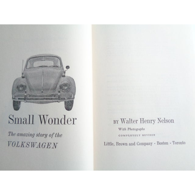 """Vintage """"Small Wonder, The Amazing Story of the Volkswagen"""" Book - Image 3 of 7"""