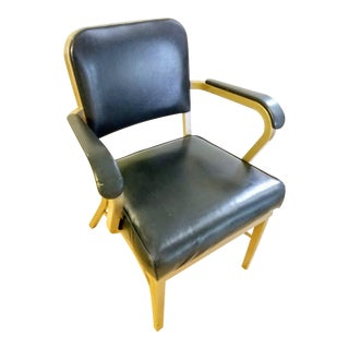 Industrial Vintage Royal Metal Office Chair For Sale