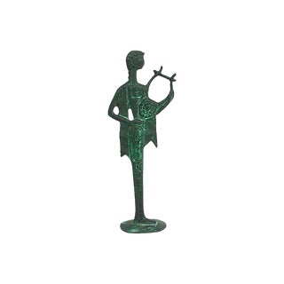 Bronze Grecian Harpest For Sale