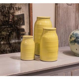 Sarreid Ltd Yellow Ceramic Milk Jar Preview