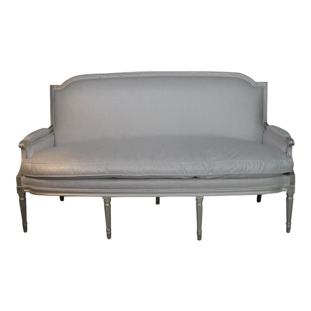 Louis XVI Style Early 19th Century Settee For Sale