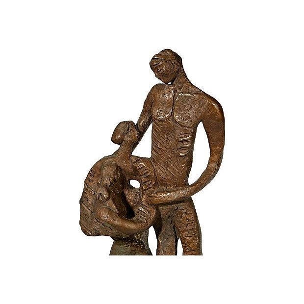 1970's Bronze Signed Sculpture - Image 2 of 5