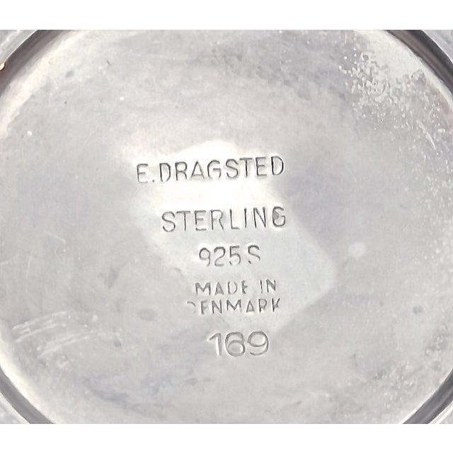 Mid-Century Modern Danish Sterling Silver Creamer - Image 4 of 6