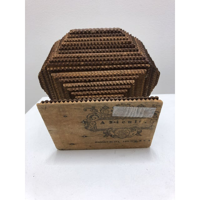 1930s 1930s Tramp Art Box For Sale - Image 5 of 6